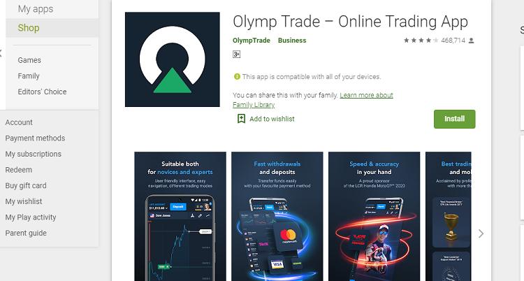 Download Aplikasi Olymp Trade