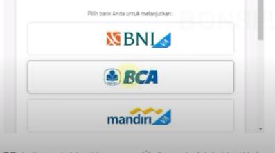 Isilah Informasi Perbankan Anda