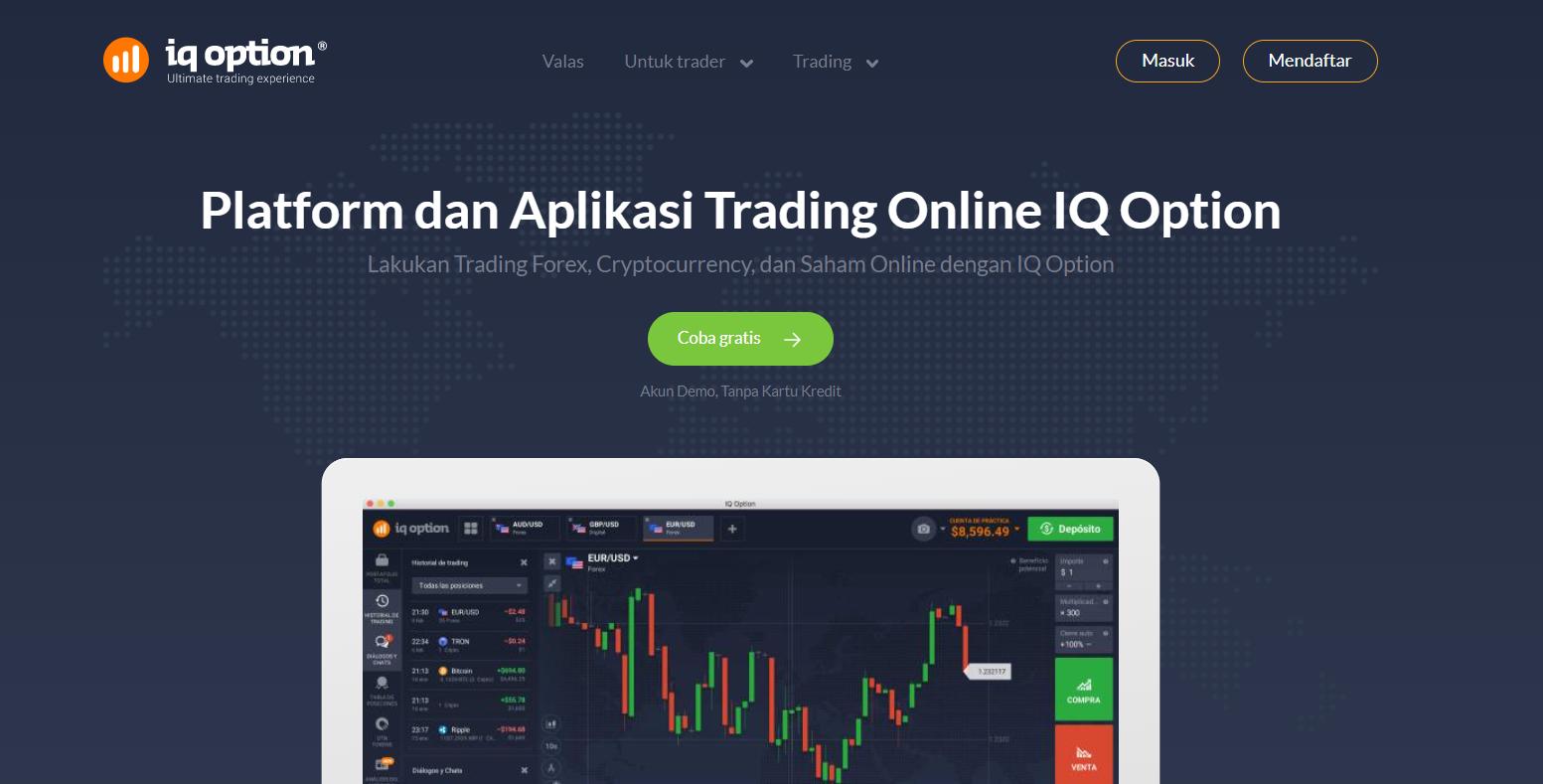 iq option homepage