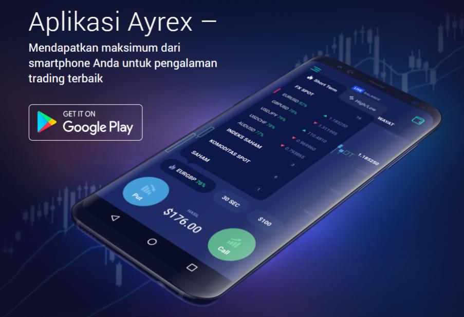Ayrex Aplikasi Mobile